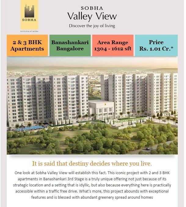 Sobha Valley View