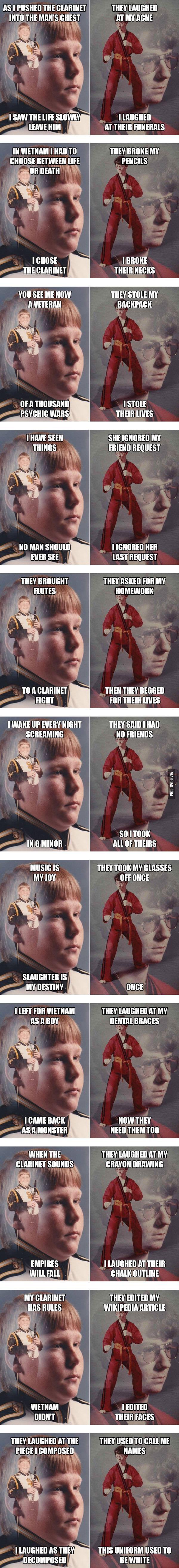 Clarinet Boy vs. Karate Kyle