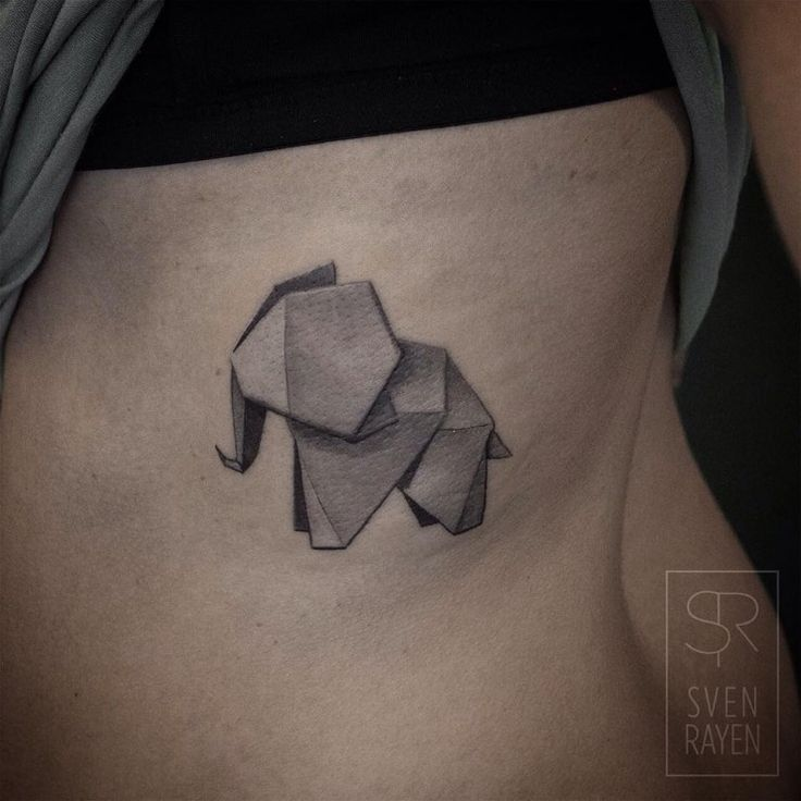 Adorable Geometric Animal Tattoos by Sven Rayen http://designwrld.com/adorable-geometric-animal-tattoos-by-sven-rayen/