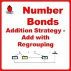 Learn Addition with Regrouping using Number Bonds Concept. Master Near-10 and Near-100 strategies help children to do fast mental calculation.