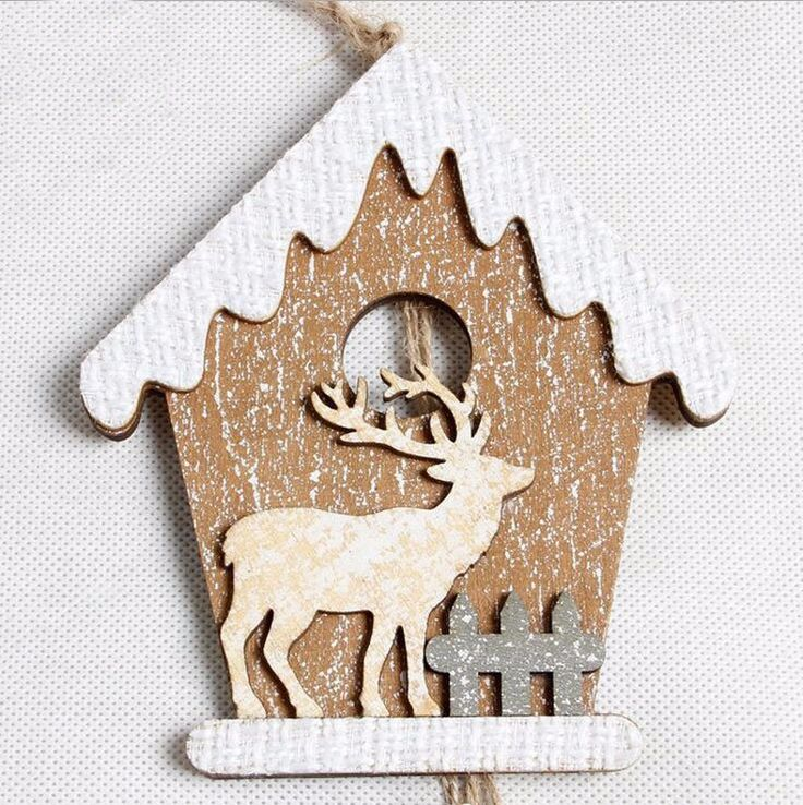 Новый лесной олень Рождество дома елочные украшения с шишковидной звезда белл новогодние украшения для дома navidad Висячие украшения купить на AliExpress