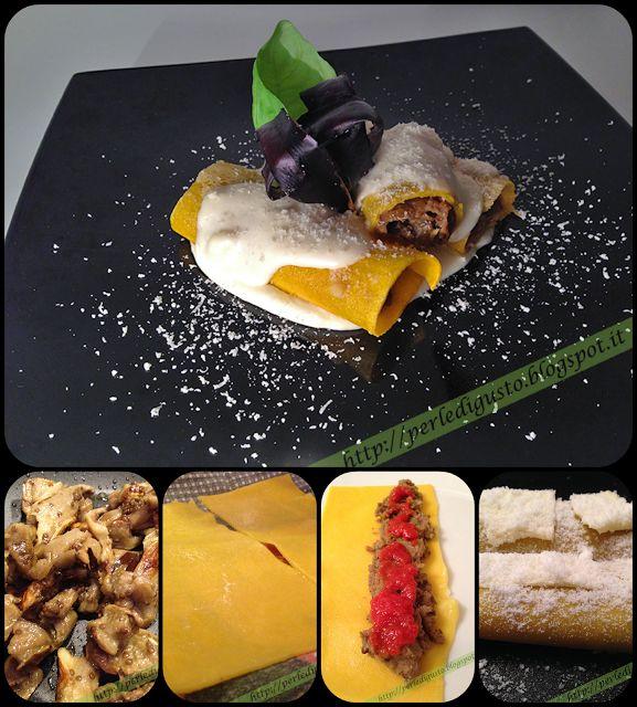 #Cannelloni alla Norma - Un classico della #cucina #siciliana, reinterpretato in chiave moderna