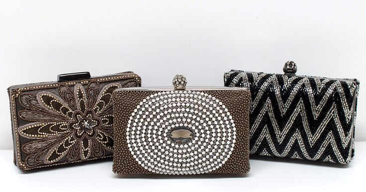 Hand Beaded Bridal Handbags In Your Custom Color
