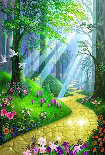Yellow brick road...this is where all my dreams started as a young girl growing up!! I loved the film The wizard of Oz.