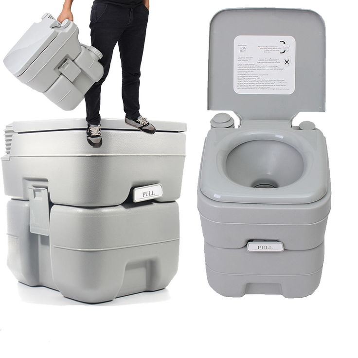 20L Portable Toilet Outdoor Camping Potty W Closestool Hiking Travel Emergency Sale - Banggood Mobile