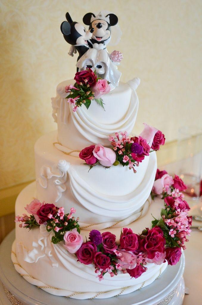 Jannette and Vincent's Fairy Tale Summer Disneyland Wedding /