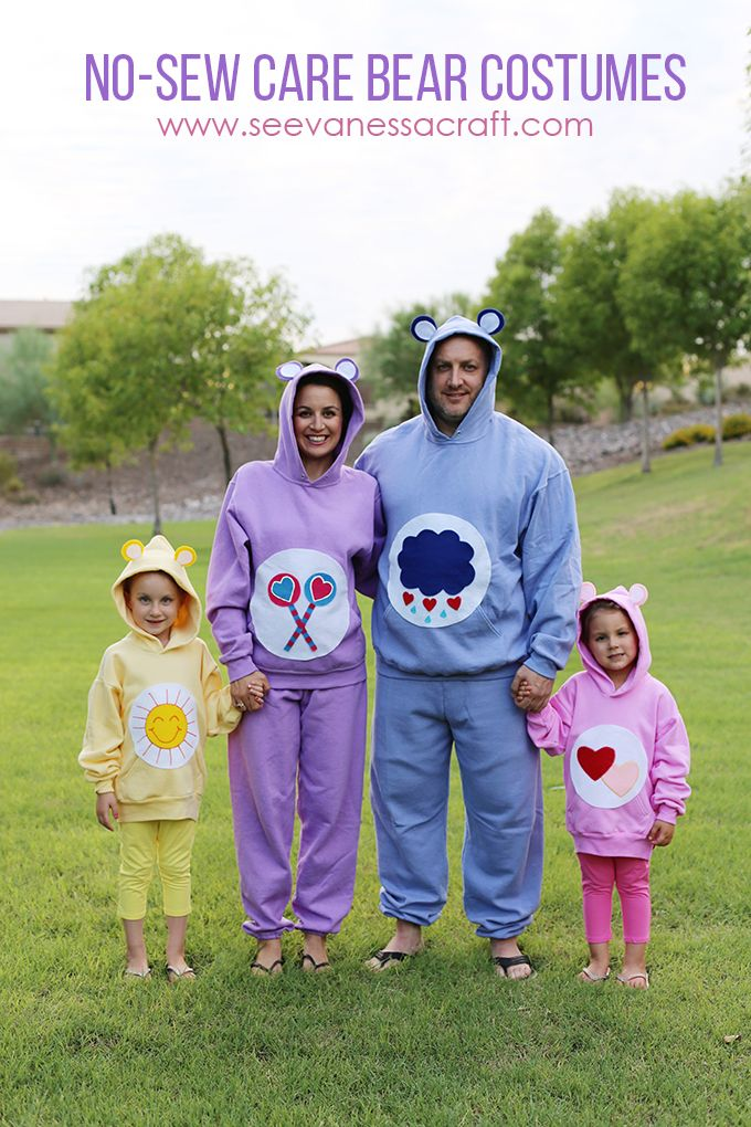 It's that time of year again, time to start thinking of Halloween costumes! When a neighbor calls you up and asks for your help to make Care Bear costumes for her family, you rush over there! No qu...