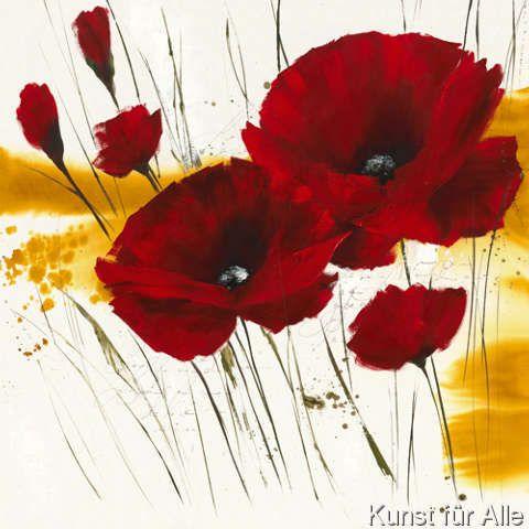 Isabelle Zacher-Finet - Liberté fleurie I (70,0 x 70,0 cm)