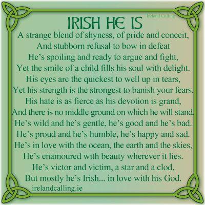 irish love quotes for him