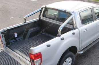 Ford Ranger T6 2012 on Sports Roll Bar Stainless Steel 76mm OEM Quality