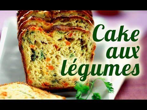 Recette Thermomix Cake salé aux légumes - YouTube