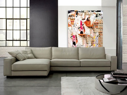 Modern Furniture New Jersey gamma international bond sectional :: floor sample sale :: modern