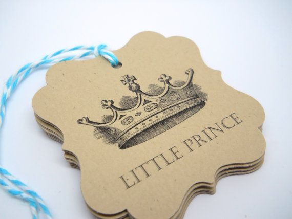 Favor tag  Gift tag  Little Prince  QTY 10 by LouTinenEvents, $5.95