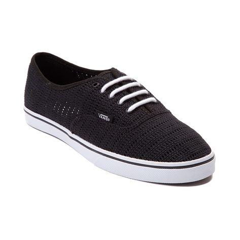 shop for vans authentic lo pro mesh skate shoe in black at. Black Bedroom Furniture Sets. Home Design Ideas