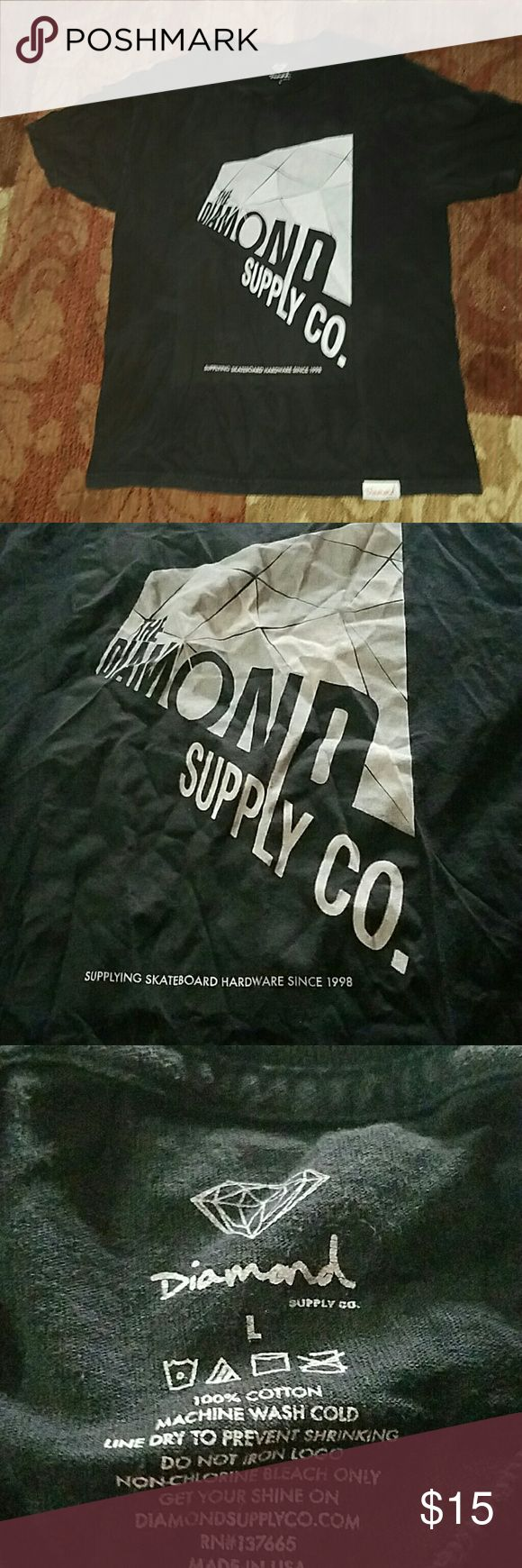 Mens diamond supply Co t-shirt Mens diamond supply Co t-shirt size large Diamond Supply Co. Shirts Tees - Short Sleeve
