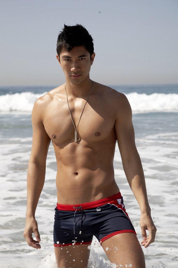 Hot hairy naked man