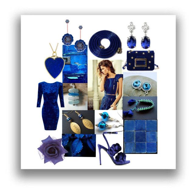 Cobalt by crystalglowdesign on Polyvore featuring art