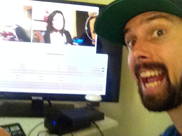 Hap in the editing suite.