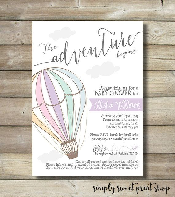 { DESCRIPTION } Its a Girl! Celebrate your Baby Shower with this cute, modern, custom printable invitation! You will receive one 5x7