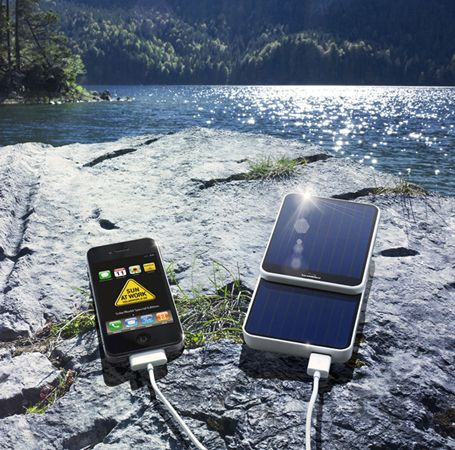 SunCharger is an incredible 3 in 1 device that can be used as a power supply, battery and a solar charger.