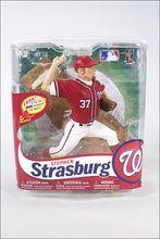 McFarlane MLB Series 31 Stephen Strasburg Figure Nationals CHASE 646/200