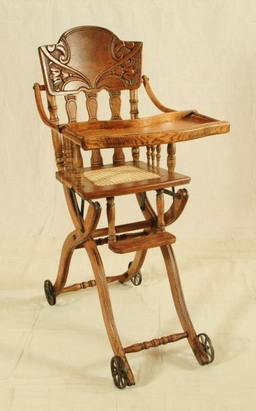 antique high chairs for room 541 chair on vintage cribs rock horses antiques