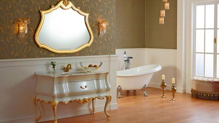 en moda klasik banyo resimleri