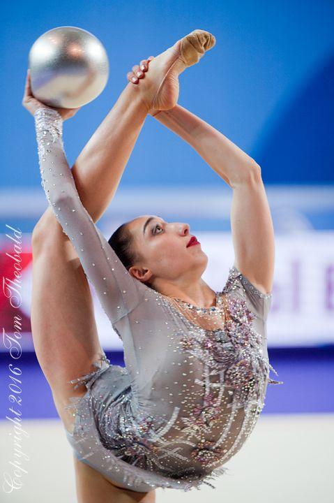 Salome Pazhava (Georgia) won bronze in ball finals at World Cup (Berlin) 'Berlin Masters' 2016