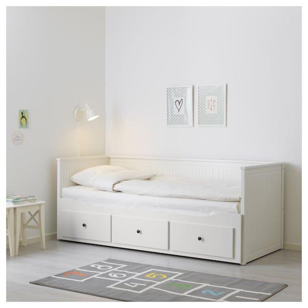 Hemnes Tagesbettgestell 3 Schubladen Weiss Ikea Deutschland Hemnes Tagesbett Bett Mit Schubladen Kleine Wohnung Schlafzimmer