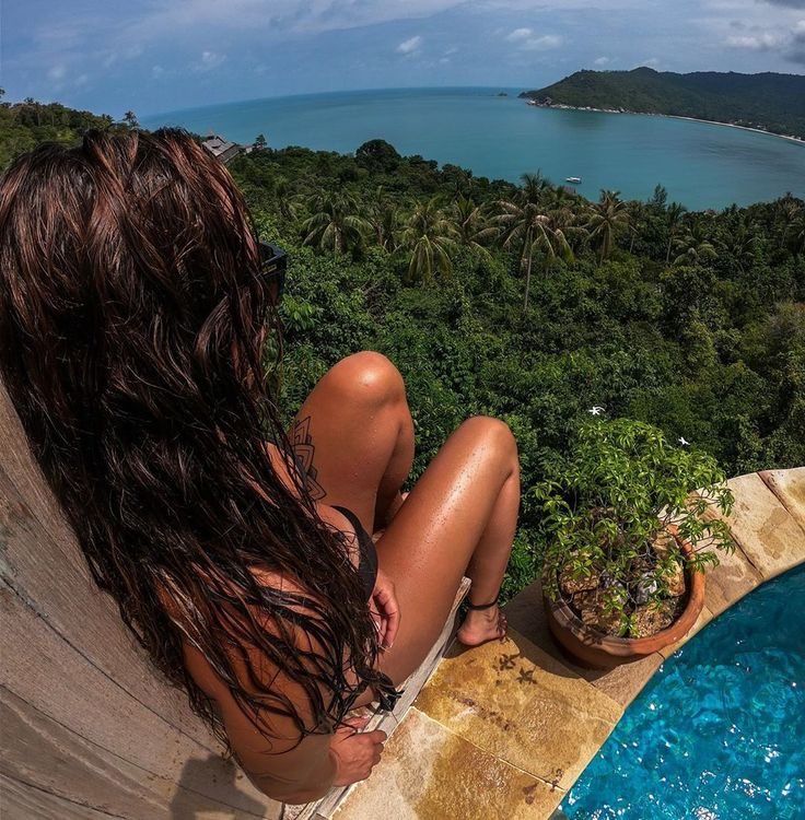 • Tagträumen – nicht stören 🏝☀️😍 • #viewfromabove #myhappyplac …   – Summer