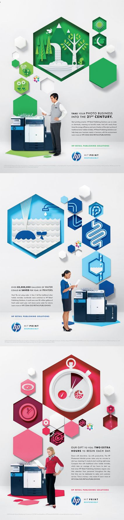 HP Ads by Alan Peters
