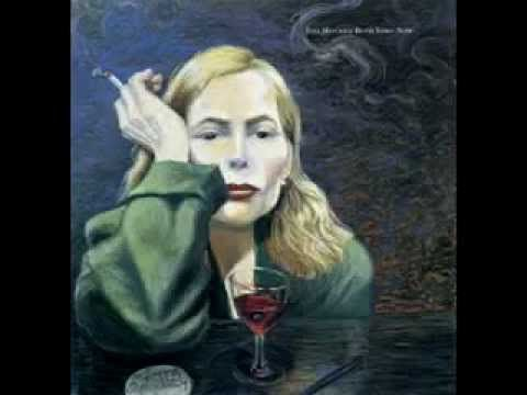 """...Oh you're in my blood like holy wine   You taste so bitter and so sweet  Oh I could drink a case of you darling   Still I'd be on my feet  Oh I would still be on my feet..."" Joni Mitchell, 'A Case of You' via YouTube - Music Video"