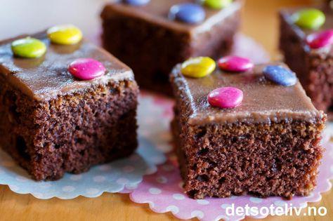 Nesquick kake | Det søte liv