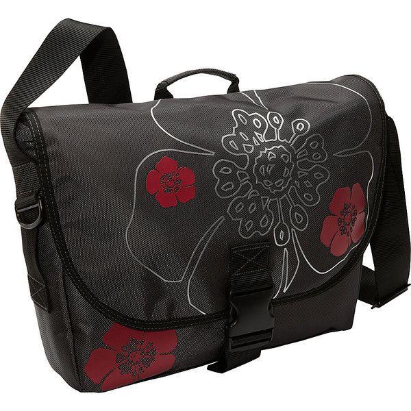 Laurex Laptop Messenger Bag -Large - Gun Metal - Messenger Bags ($60) ❤ liked on Polyvore featuring bags, messenger bags, grey, handle bag, pocket bag, lightweight bags, grey messenger bag and laptop bag