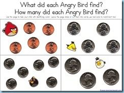 angry birds kindergarten printables for math and reading