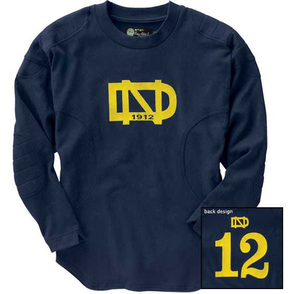 Knute Rockne 1912 Throwback Jersey 135 All Things Nd