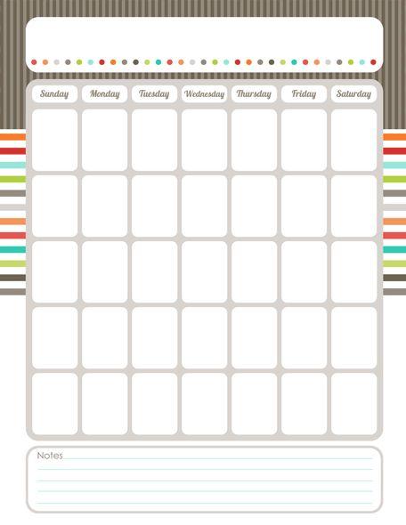 25+ unique Weekly calendar template ideas on Pinterest Calendar - free printable calendar