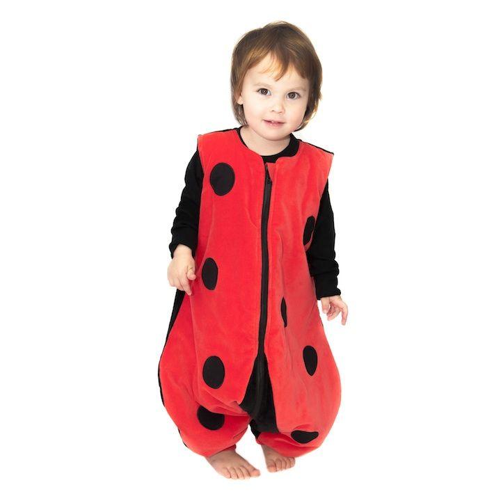 Nuestros sacos de dormir modelo abeja son la mejor opción para abrigar a las niñas
