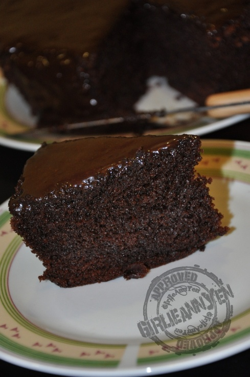 Steamed Moist Chocolate Cake