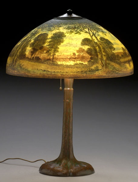 39 Best Reverse Painted Lamps Images On Pinterest