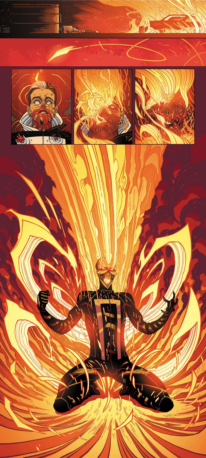 All-New Ghost Rider Transformation by Tradd on deviantART