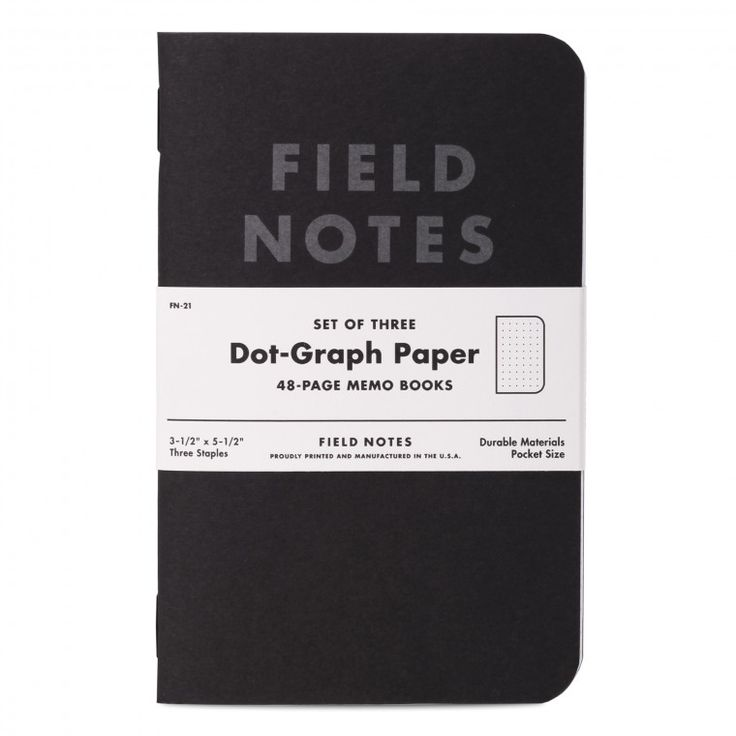 Field Notes Pitch Black edition looks great in a sleek suit or a greasy leather jacket.