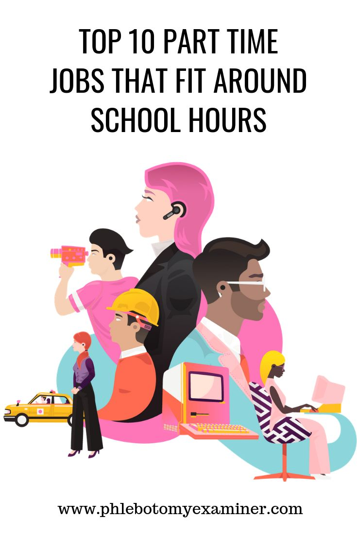 Top 10 part time jobs that fit around school hours part