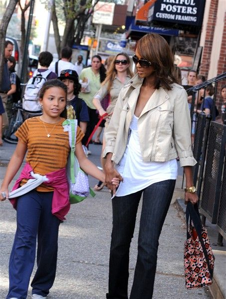 """Iman  The supermodel was 45 when she and husband David Bowie welcomed daughter Alexandria -- who goes by the nickname Lexi -- in 2000. Iman also has an older daughter, Zulekha, from her second marriage to basketball star Spencer Haywood. """"People talk about the miracle of birth. No. There's the miracle of conception. I   did IVF, but nothing happened. So I began to think of adoption, and then I got pregnant. It was definitely a miracle,"""" she told Parade."""