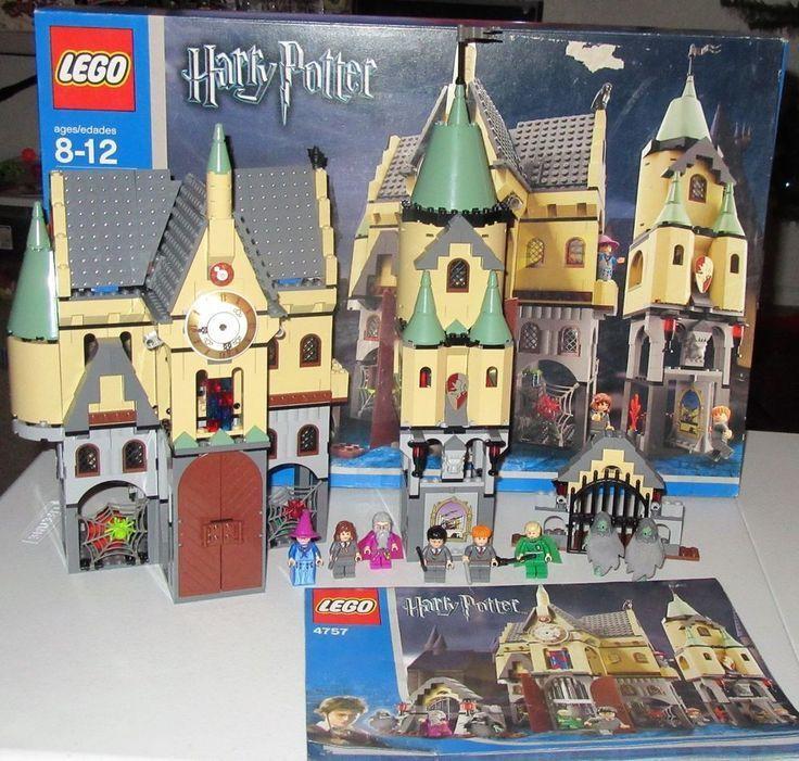 Gaming Pinwire Lego 4757 Harry Potter Hogwarts Castle 100 With Books 13 Mins Ago 8 Harry Potter Hogwarts Castle Hogwarts Castle Harry Potter Hogwarts