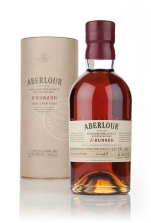 Aberlour a'Bunadh Batch 49 - I am new to Scotch, but absolutely loved this.  Definitely top shelf!