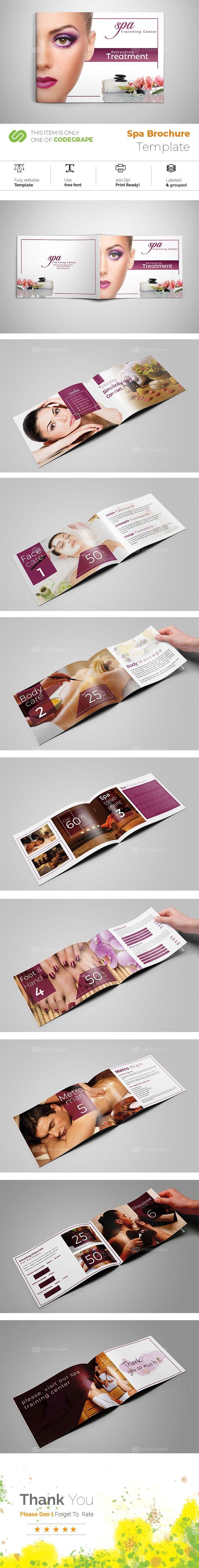 Spa Brochure on @codegrape. More Info: https://www.codegrape.com/item/spa-brochure/19006