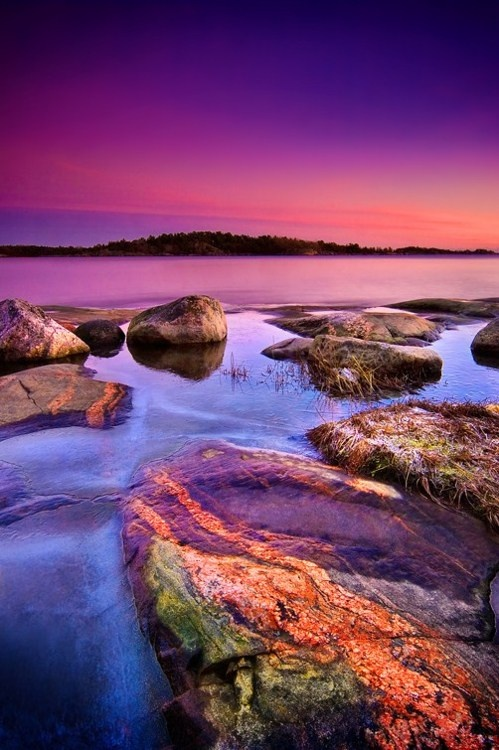 Stunning view of Pellinge  Finland