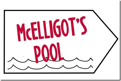 McElligots Pool Sign