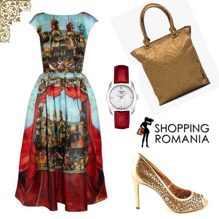 Tinuta burgheza #outfit #fashion de pe www.shoppingromania.com